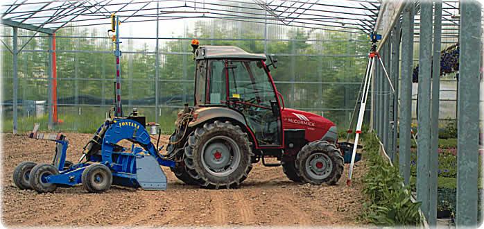 Appartamento e famiglia livellatrici laser agricole for Livellare terreno
