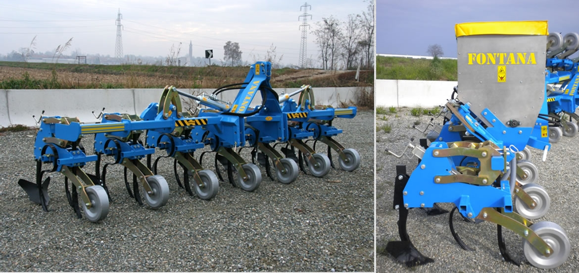 SERIES SMP hydraulically foldable weeding machines patented – certified