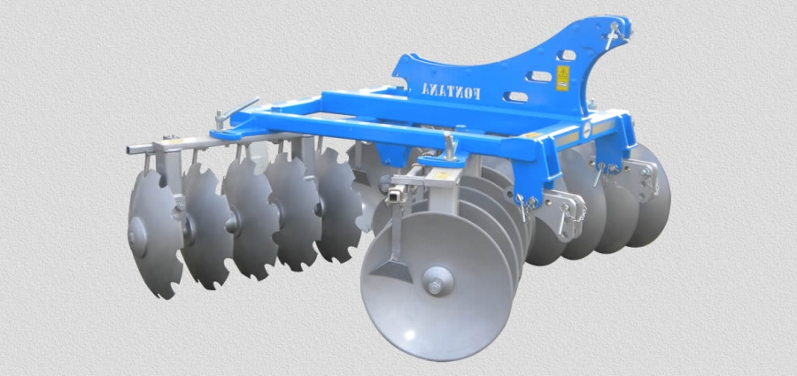 HARROWS SERIES ED MO with carried disks in 4 sections