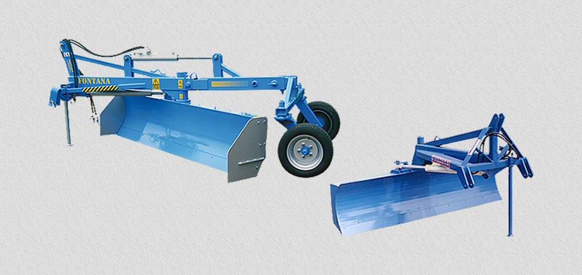 LEVELLING MACHINES SERIES LI equipped with mechanical/hydraulic shifting