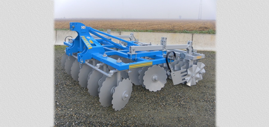 HARROWS SERIES MTCM with carried disks slanting and adjustable coupled disks